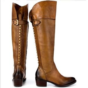 NWOT- Vince Camuto Bollo Leather Knee High Boot